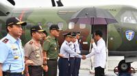 Presiden Jokowi memulai kunjungan kerja ke Jawa Tengah, Senin (23/4/2018). (Foto: Istimewa/presidenri.go.id)