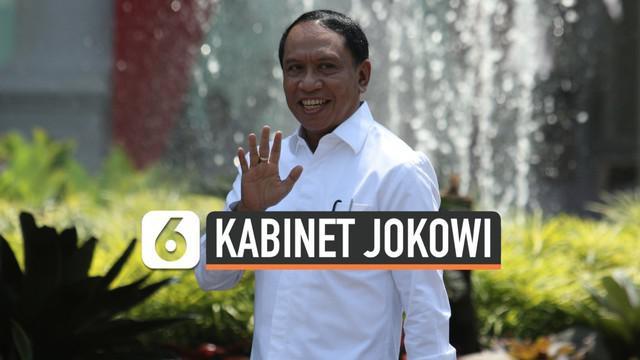Politikus Partai Golkar Zainudin Amali merapat ke Istana di hari pengenalan calon menteri Presiden Joko Widodo. Ia tiba di Istana Negara, Selasa (22/10/2019), sekitar pukul 13.22 WIB.