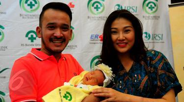 Ruben Onsu dan Sarwendah Tan (Liputan6.com/Faisal R Syam)