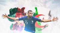 Timnas Prancis - Kylian Mbappe (Bola.com/Adreanus Titus)