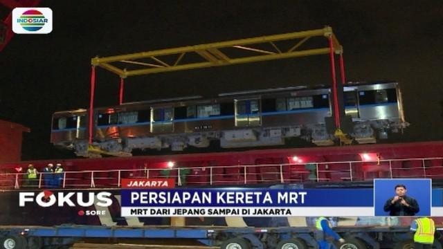 MRT masih akan melalui berbagai tahap pengujian hingga siap digunakan pada Bulan Maret 2019.