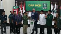 PKB resmi diterima sebagai anggota dari koalisi partai demokrasi internasional yakni Centrist Democrat International (CDI). (Liputan6.com/Nanda Perdana)