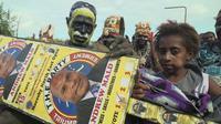 Petugas TPS Mogok, Pemilu di Ibu Kota Papua Nugini Ditunda (ABC News: Eric Tlozek)