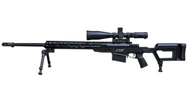 Senjata Sniper buatan PT Pindad (Perseo) jenis SPR 4