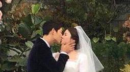 Perceraian Song Joong Ki dan Song Hye Kyo dilakukan secara baik-baik tanpa adanya pembagian tunjangan atau pun properti. (Liputan6.com/IG/songjoongkionly)