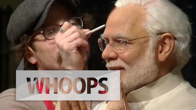 Karya terbaru di Madame Tussauds berupa patung lilin Perdana Menteri India siap dipamerkan di 4 negara
