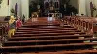 Gereja Katedral Santo Petrus ternyata bukan gereja katolik pertama di Bandung. (Liputan6.com/Huyogo Simbolon)