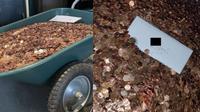 Pria ini terima uang gaji terakhirnya dalam bentuk koin senilai Rp 13 juta. (Sumber: Siakapkeli)