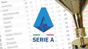 Klasemen Liga Italia Serie A: AS Roma Jauhi Rival?