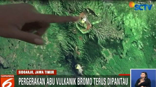 Rute alternatif penerbangan ditetapkan untuk menghindari abu vulkanik Gunung Bromo.