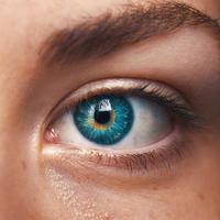 Ilustrasi lensa kontak. (unsplash.com/amandadalbjorn)