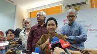 Nasabah Jiwasraya di Gedung OJK (Liputan6.com/Tira Santia)