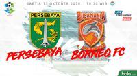 Liga 1 2018 Persebaya Surabaya Vs Pusamania Borneo FC (Bola.com/Adreanus Titus)