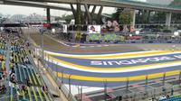 Singapura menggelar balapan Formula One (F1) akhir pekan ini. (Liputan6.com/Cakrayuri Nuralam)