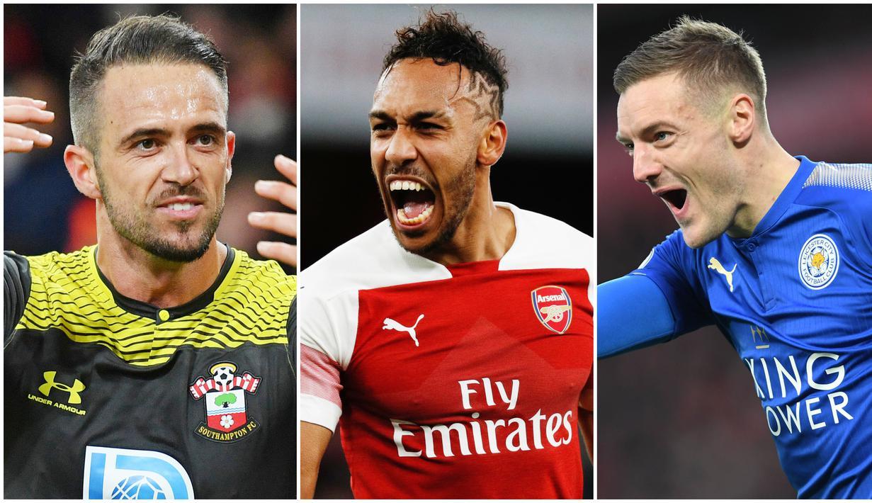 Berikut ini daftar topskor sementara Premier League musim 2019/2020. Ings Jadi Penantang Serius Jamie Vardy berada di posisi pertama dengan koleksi 19 gol,