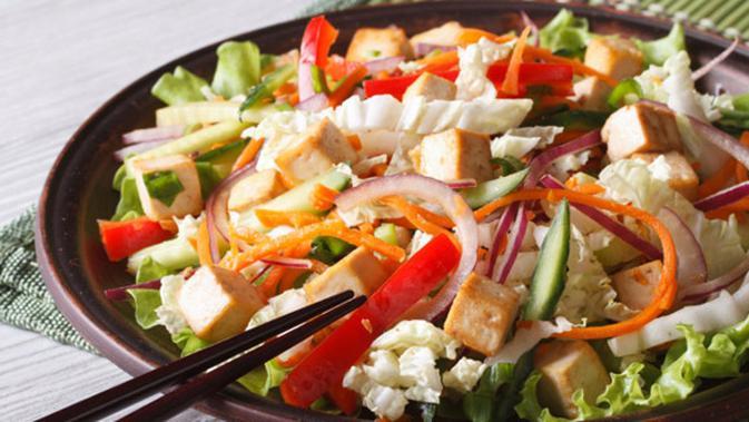 Menu Sahur Praktis Tumis Egg Tofu Sayuran Lifestyle Fimela Com