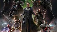 Desain untuk film Zack Snyder's Justice League alias Justice League Snyder Cut. (Sumber utama: Twitter @Bosslogic)