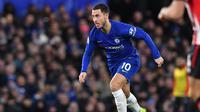 5. Eden Hazard (Chelsea) - 10 gol dan 10 assist (AFP/Ben Stansall)