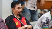 Aa Gatot di vonis sembilan tahun penjara dalam kasus asusila. Selain pidana, ia juga diwajibkan membayar denda Rp 200 juta atau bisa diganti dengan kurungan selama enam bulan. (Adrian Putra/Bintang.com)