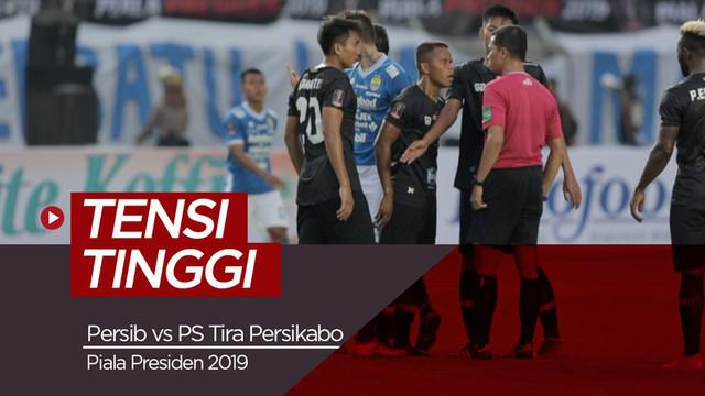 Berita video beberapa momen yang menunjukkan laga dengan tensi tinggi antara Persib Bandung melawan PS Tira Persikabo di Piala Presiden 2019, Sabtu (2/3/2019).