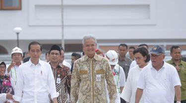 Di Semarang, Jokowi Tinjau Pasar Johar dan Kota Lama