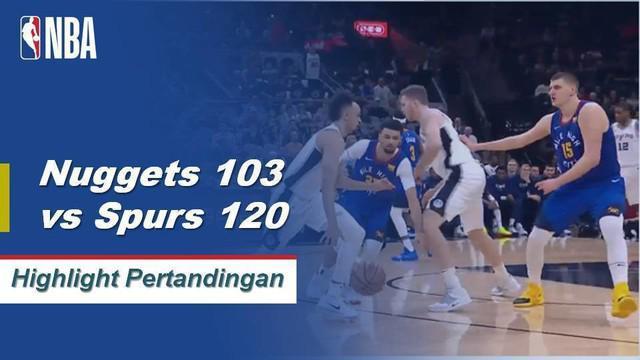 LaMarcus Aldridge dan DeMar DeRozan bergabung dengan 51 poin ketika Spurs unggul dalam Game 7 setelah menang 120-103 atas Nuggets. Nikola Jokic mencatat 43 poin 12 rebound dan 9 assist untuk Denver dalam kekalahan.