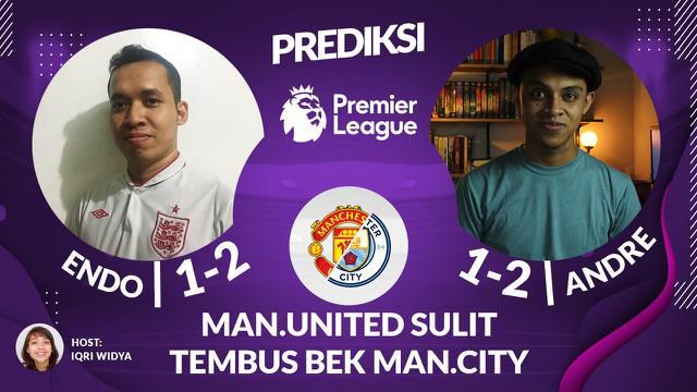 Berita video prediksi Liga Inggris, Manchester United akan sulit menembus lini pertahanan Manchester City