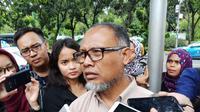 Mantan Wakil Ketua KPK Bambang Widjojanto di Balikota DKI.(Www.sulawesita.com)
