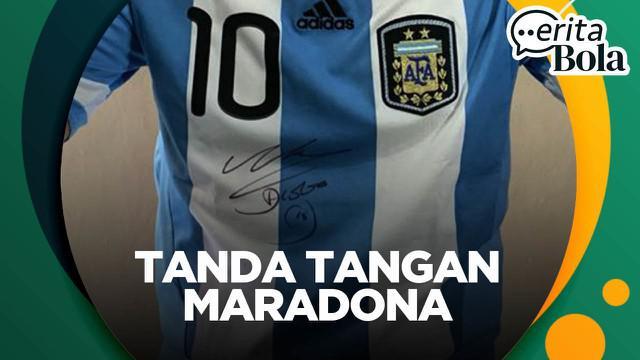 Berita video CERITA BOLA kali ini membahas pengalaman jurnalis Bola.com, Ario Yosia, tentang tak mudahnya mendapatkan tanda tangan legenda Timnas Argentina, Diego Maradona.