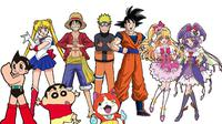 Karakter anime-manga Naruto, One Piece, Dragon Ball, Sailor Moon, Shin-Chan, dll. (onepiecepodcast.com)