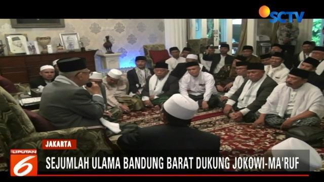 Para ulama ini menilai pemerintahan Jokowi telah melakukan pembangunan infrastruktur di pedesaan dan memberikan jaminan kesehatan.