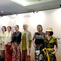 Keindahan kain batik di Mahakarya Borobudur 2018. (Foto: Yuni Arta/Bintang.com)