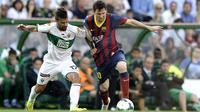 Lionel Messi (JOSE JORDAN / AFP)