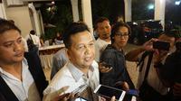Mantan Ketua Umum PAN Soetrisno Bachir saat menghadiri acara tasyakuran kemenangan Jokowi-Amin di Solo, Sabtu malam (25/5)/(Liputan6.com/Fajar Abrori)