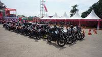 Di Sumatera Utara, Honda menguasai 77 persen pasar sepeda motor.
