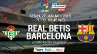 La Liga_Real Betis Vs Barcelona (Bola.com/Adreanus Titus)