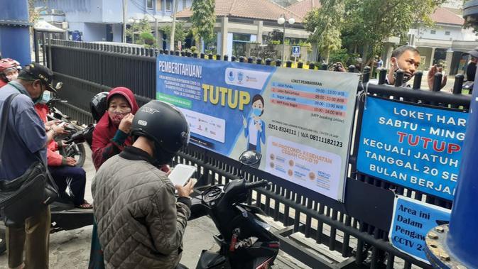 UANG 14 Karyawan Terpapar Covid-19, Kantor Pusat PDAM Kota Bogor Ditutup 3 Hari - News Liputan6.com