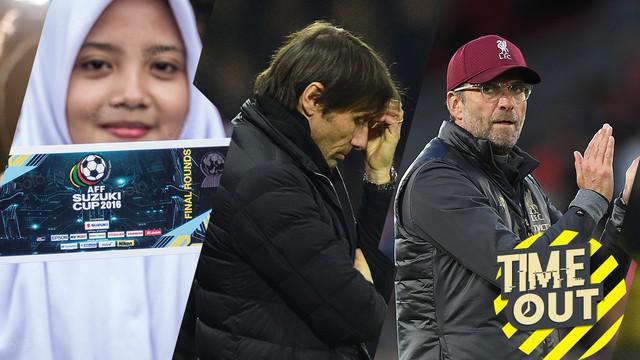 Berita video time out tentang 6 pelatih yang menolak Real Madrid dan juga harga tiket kandang Piala AFF 2018.