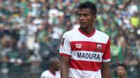 Gelandang Madura United, Zulfiandi. (Bola.com/Aditya Wany)