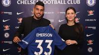 Chelsea resmi mendatangkan Emerson Palmieri dari AS Roma pada bursa transfer Januari 2018. (dok. Chelsea FC).
