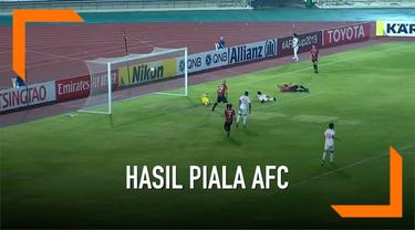 PSM Makassar berhasil mengalahkan tuan rumah Lao Toyota dengan skor 3-0 dalam partai terakhir penyisihan Grup H Piala AFC 2019 yang digelar di National Stadium, Vientiane, Selasa (14/5) malam WIB.