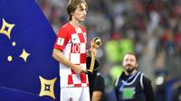 Kapten Timnas Kroasia, Luka Modric. (AP Photo/Martin Meissner)