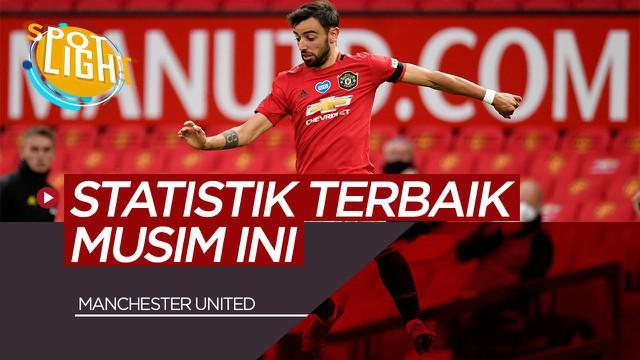 Berita VIdeo Spotlight kali ini akan membahas tentang 5 Pemain Manchester United dengan Catatan Statistik Terbaik Musim ini, Ada Bruno Fernandes