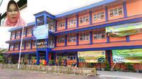 Polisi yang hendak menjemput paksa Kepala SMP 54 Surabaya yang diduga dalangi pencurian soal UNBK itu terpaksa gigit jari.