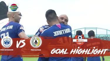 Berita video gol-gol yang tercipta saat PSIS Semarang mengalahkan PSS Sleman dalam lanjutan Shopee Liga 1 2019, Sabtu (2/11/2019).