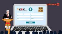 Banner Infografis 169 Anggota DPR Belum Laporkan Harta. (Liputan6.com/Abdillah)