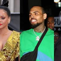 Sudah hampir 10 tahun sejak Chris Brown dan Rihanna pisah. Kini Chris pun tengah digosipkan menjalin hubungan dengan Agnez Mo. (REX/Shutterstock/HollywoodLife)