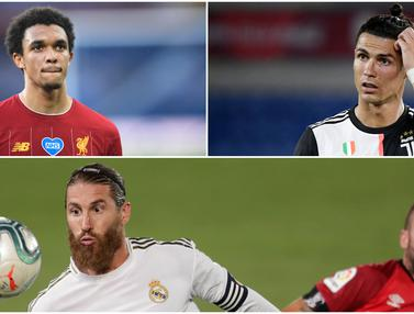 Penampilan Baru Pesepak Bola Top Eropa usai Karantina Pandemi Corona