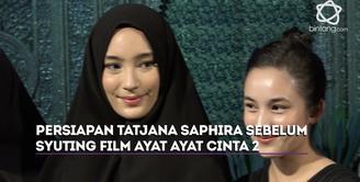 Tatjana Saphira akan menjalani syuting film Ayat Ayat Cinta 2 selama 45 hari
