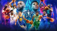 Starter NBA All-Star 2019 (Dok NBA)